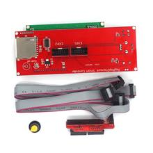 3D Printer Parts Reprap Smart Controller Reprap Ramps 1.4 LCD2004 Control Dispaly 33d printer kit smart parts ramps 1 4 controller control panel lcd 2004 module display monitor motherboard blue screen