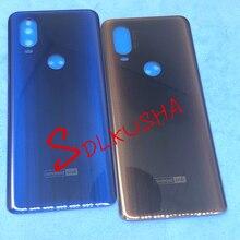 10 sztuk powrót pokrywa baterii obudowa dla Motorola Moto jedna wizja P50 XT1970 tylna pokrywa