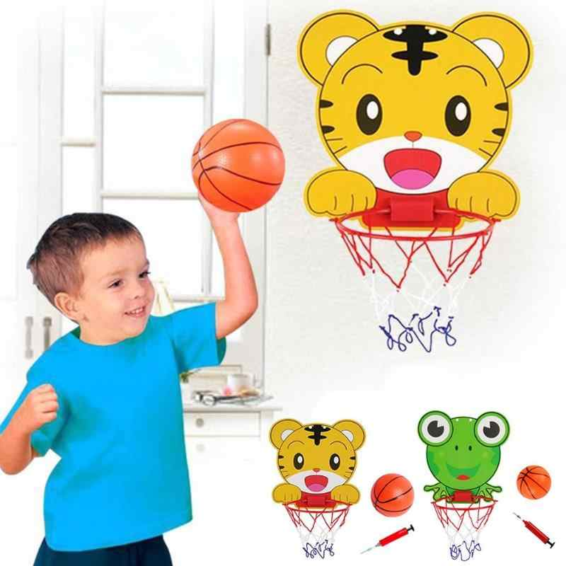 Muro Mouted Basket Giocattolo Mini Cartone Animato di Plastica Portatile Facile Da usare Figura Bella Bambini Indoor A Casa I Bambini di Sport 300X280X30 MILLIMETRI