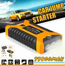 Car Jump Starter Power Bank 300A Portable Car Battery Booster Charger 12V Starting Device Petrol Diesel Car Starter LED Torch(China)