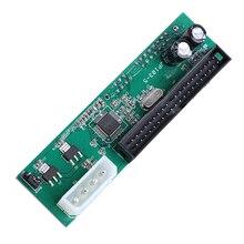 цена на Parallel ATA Pata 40 Pin IDE To Sata Serial ATA Hard Drive Adapter Converter For Mac And PC Computer Connectors