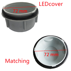 Image 5 - 1 pc for toyota Elfa Car lamp accessories LED bulb extension dust cover hid lamp access cover Headlamp cap Lamp waterproof plug