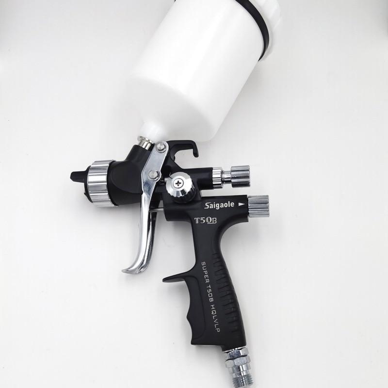 Новый черный титановый Электролитный электрод со случайно выбранным 1,3 насадка T50 пушка брызга пистолет защиту окружающей среды пушка брыз...