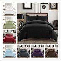 Denisroom Black Set Bed Double Duvet Cover Set King Bedding Set no sheetAD19#|Bedding Sets|Home & Garden -