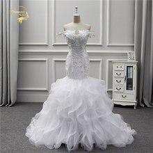 Жанна love 2020 новый дизайн свадебное платье Русалка кружево