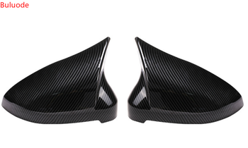 2Pcs of Car Auto Rearview Mirror Shell Cover Protection CapMatte Chrome for Audi B9 A4 A5 S4 Rearview Wing Mirror Cap New