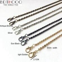 Золотистая/Серебристая/черная/бронзовая 5 мм металлическая сменная