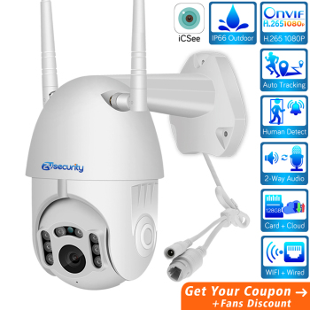 ZY HD 1080P Wifi Mini PTZ IP Camera Outdoor Wireless Speed Dome CCTV Security Camera Onvif 2MP IR Home Surveillance Cameras P2P