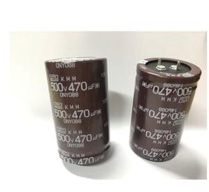 Image 1 - Condensadores electrolíticos de 500v, 470uf, 500v, volumen: 35x60mm, baja frecuencia, novedad, original, 16 Uds. 2 uds.