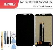 5.2 אינץ Doogee S60 S60 לייט LCD תצוגה + מסך מגע 100% מקורי נבדק LCD Digitizer זכוכית לוח החלפה עבור doogee S60