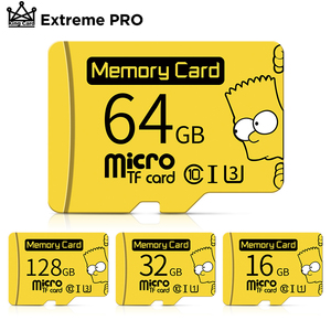 Memory card 256GB 128GB Class 10 sd card 64GB 32GB флешка micro sd card 16gb 32gb for SmartPhone/Tablet With Free Adapter