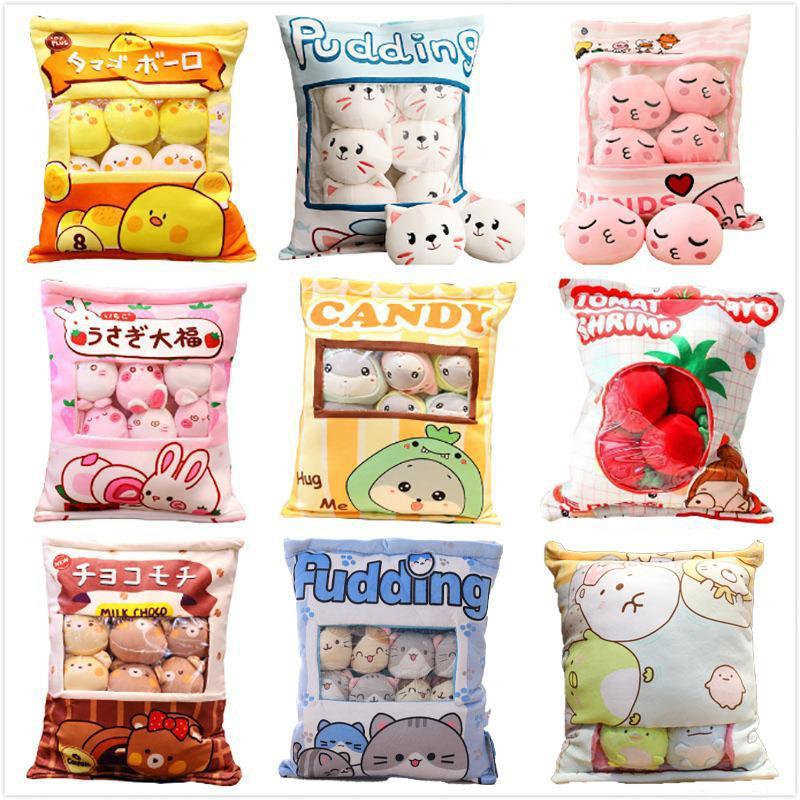 One Bag Sakura Rabbit Ball Wagashi Plush Toy Plushie Rabbits Creative Baby Kids Children Birthday Christmas Gift Triver Drop