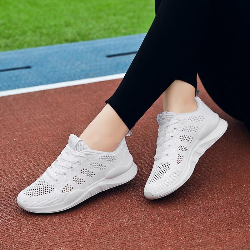 Women Sneakers White Platform Trainer