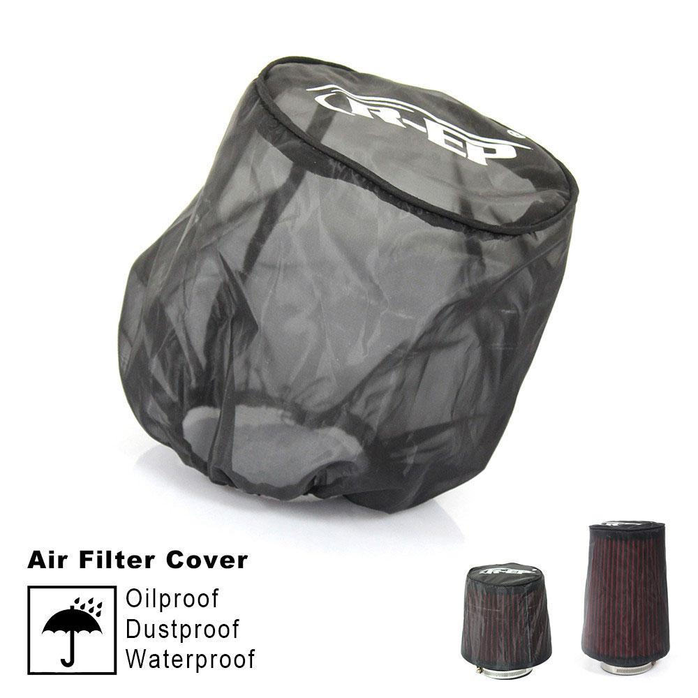 Universal Air Filter Protective Cover Dustproof Oil-proof Protective Cover for High-flow Air Inlet Filters Car Accessories title=