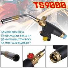 Braze antorcha de soldadura MAPP Gas propano antorcha piezoeléctrico encendido cobre aluminio calentamiento soldadura quemador TS9000