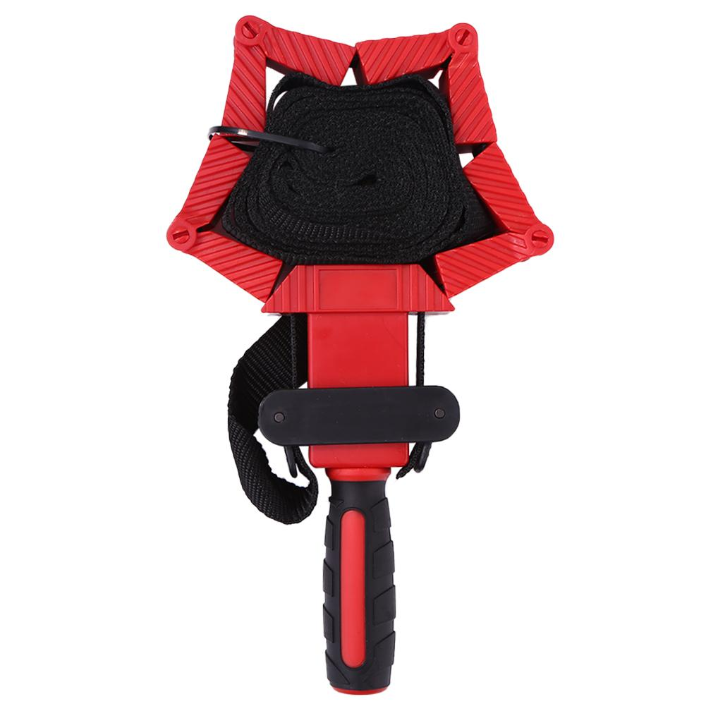 Anti-slip Handle Nylon Adjustable Polygonal Belt Clamp TPR Dual-color Anti-skid Handle Wear Resistance Durable For Woodworking