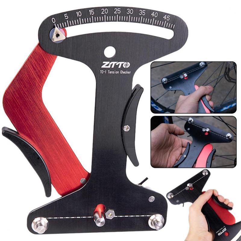 High Quality Aluminium Alloy  Spoke Tension Meter Bike Repair Tool Ztto Bicycle Spoke Tension Meter Wheel Spokes Measuremen Tool