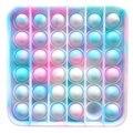 Игрушка антистресс для взрослых и детей, радужная пузырьковая игрушка для снятия стресса, сенсорная игрушка для снятия аутизма, бесплатная ...