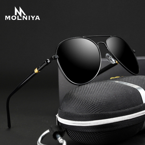 2020 Classic Sunglasses Polarized Men Driving Glasses Black Pilot Sun Glasses Brand Designer Male Retro Sunglasses Men Women