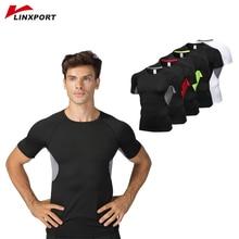 Compression Running Shirts Men Gym Tights Fitness Sports T Shirt Bodybuilding Rashgard Male Elastic Tops ropa deportiva