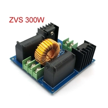 12 30V 60 300W ZVS Tesla Coil Driver Genrator Board High Voltage Discharge Flyback Generate Module Long Arc 10A