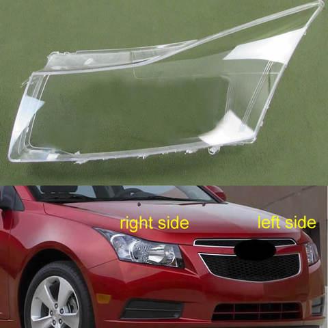 capa transparente para lampada de farol tampa para farol dianteiro escudo para chevrolet cruze 2009