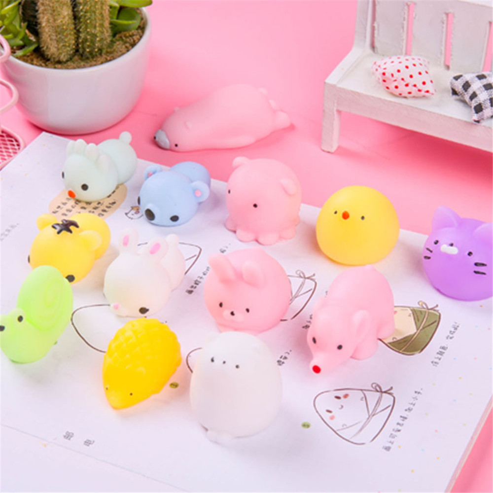 Mochi Squishy Toys Stress-Toy Moj Adult Child Cute Kawaii For Kids Gift with Bag Venting img5