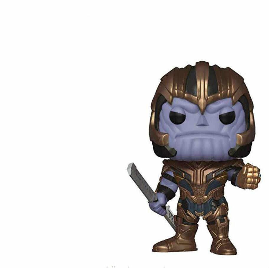 FUNKO POP Avengers คอลเลกชันรุ่นของเล่นตุ๊กตาไวนิล Avengers Action Figures ของเล่นต้นฉบับกล่อง