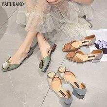 2020 Brand Design Side Hollow Women Flats Shoes