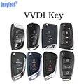 OkeyTech VVDI ключ 3 кнопки умный Автомобильный ключ карта ручной Универсальный пульт беспроводной/провод для VVDI мини ключ инструмент ключ програ...