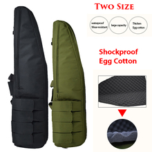 Tactical Airsoft Rifle Case Outdoor Hunting Accessories Gun Shoulder Bag Rifle Bag Military Paintball Equipment 98cm / 118cm