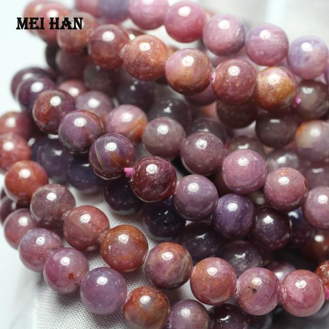 Meihan bracelet/ensemble, perles rondes lisses et amples, 9mm + 0.2, pour la fabrication de bijoux