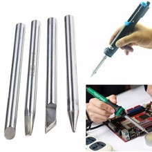 4 tipo escolha 60w 70mm elétrica solda ferro bit dicas diâmetro para a ferramenta de solda