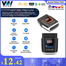 Viecar ELM 327 V2.2 VP003 PIC18F25K80 WIFI OBD 2 OBD2 ELM327 Bluetooth 4.0สแกนเนอร์สำหรับAndroid/IOS ODB2รถวินิจฉัยอัตโนมัติเครื่องมือ