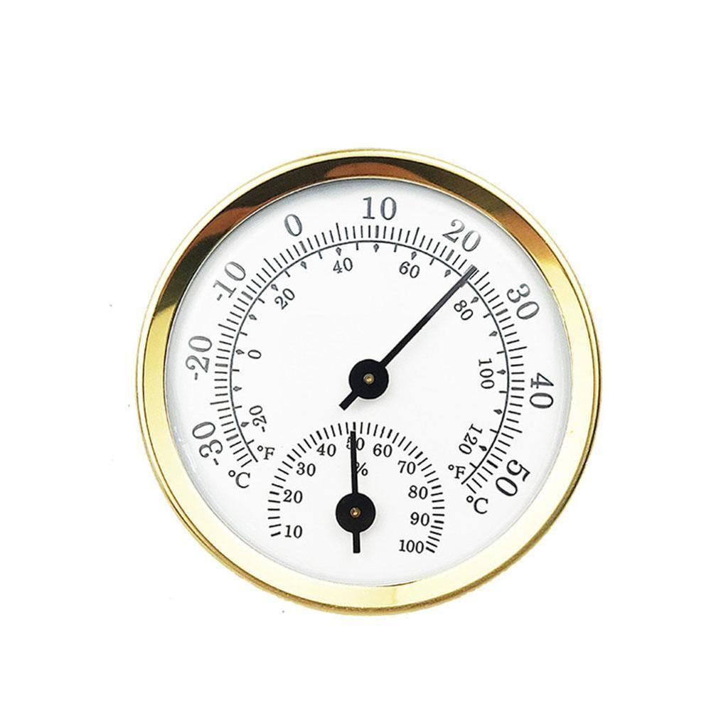 Wall Mounted Temperature Humidity Meter Thermometer & Hygrometer For Sauna Room Household Termometro Digital