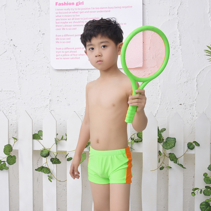 Juvenile And CHILDREN'S Publishing House AussieBum Medium And Small BOY'S Baby Track And Field Sports Fitness Training Shorts Ho