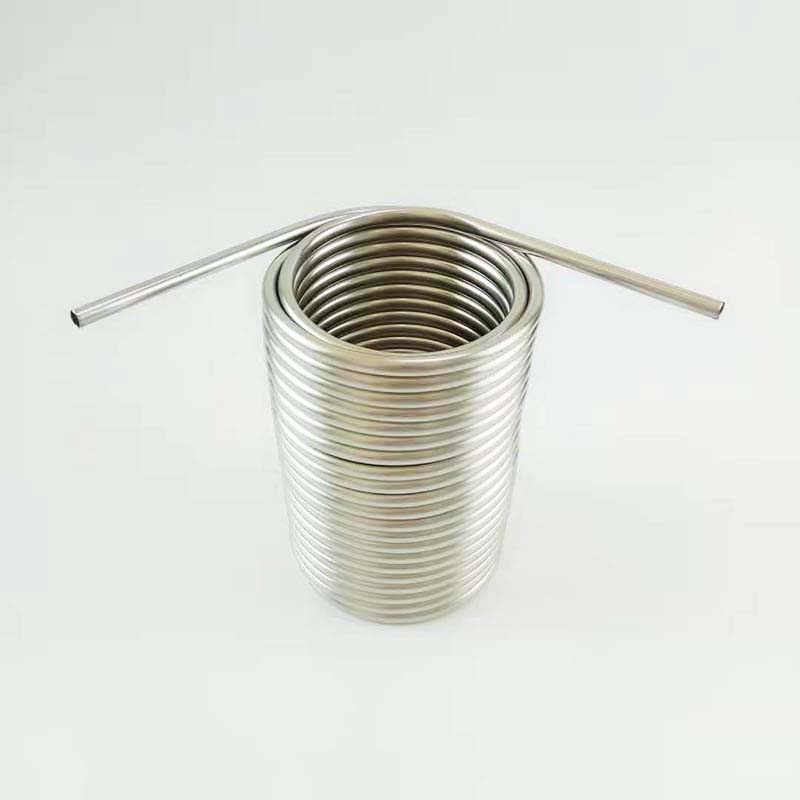 8mm OD pipe Stainless Steel Coil 5' Diameter beer coil cooler for your homebrew make jockey box by yourself