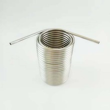 Stainless Steel Coil 5 Diameter beer coil cooler for your homebrew make jockey box by yourself