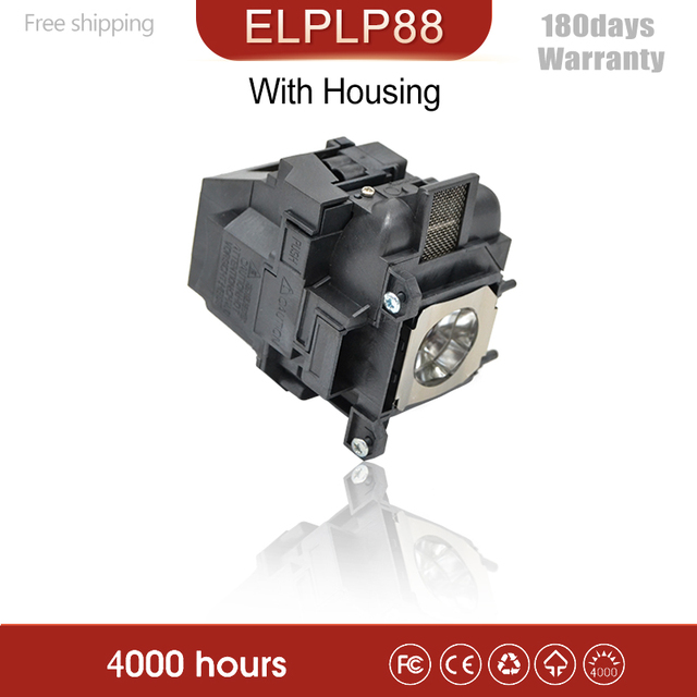 High quality Projector Lamps ELPLP88 for EPSON EB S04/EB S31/EB W31/EB W32/EB X31/EB 97H with Housing