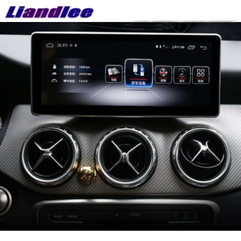 Liandlee Car Multimedia Player NAVI CarPlay For Mercedes Benz MB A Class W176 2013~2018 10.25 Car Radio Stereo GPS Navigation image