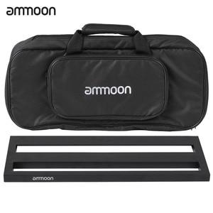 Image 2 - Ammoon DB 2 נייד גיטרה דוושת לוח אלומיניום סגסוגת עם נשיאת תיק קלטות רצועות גיטרה אביזרי גיטרה דוושת תיק