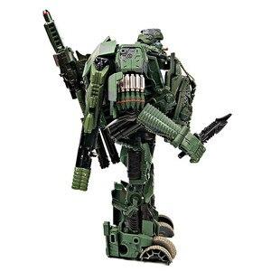 Image 3 - WJ Hound M02 TF Transformation Hound Camouflage ควันนักสืบรถบรรทุก INSPECTOR Action FIGURE OVERSIZE หุ่นยนต์ของเล่น