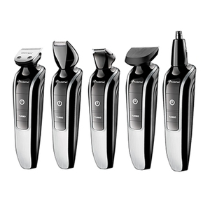 Image 1 - 7in1 waschbar elektrische haar trimmer bart trimer haar clipper stoppeln rasierer schnurrbart former haar schneiden maschine haarschnitt