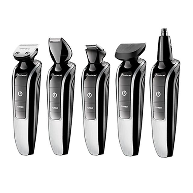 7in1 waschbar elektrische haar trimmer bart trimer haar clipper stoppeln rasierer schnurrbart former haar schneiden maschine haarschnitt