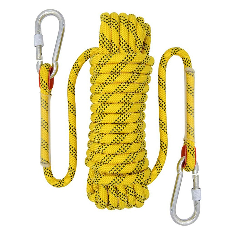 20M Outdoor Climbing Rope Diameter 12mm Outdoor Hiking Accessories High Strength Rope Safety Rope Lifeline Hiking Accessories Ye