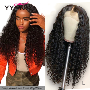 HD Transparent Lace Front Human Hair Wigs Pre Plucked Brazilian Body Wave Lace Frontal Wig With Baby Hair Remy Princess Hair(China)
