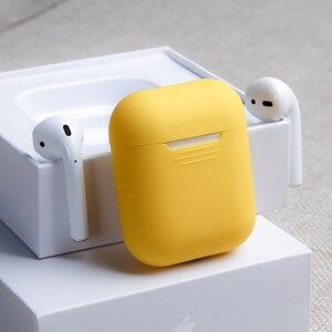 Image 4 - Ốp Lưng Dẻo Silicone Cho Tai Nghe Apple AirPods Không Khí Cho Quả Trường Hợp Cho AirPods Pro Bluetooth Da Dành Cho Tai Nghe Phụ Kiện