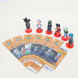 Image 2 - 6pcs/set 6cm Dragon ball Acion Figure Son Goku Black Trunks Zamasu Model PVC Action Figure Toy Christmas