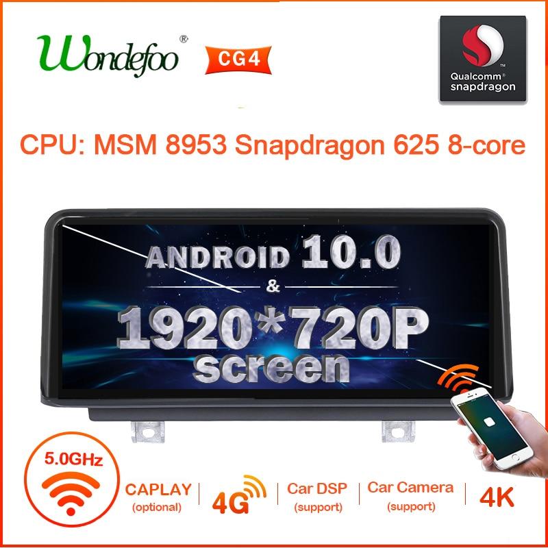 Snapdrago 625 1920*720p 10 2DIN Android RÁDIO Do Carro para BMW F20 F21 F30 F31 F34 F32 F33 F36 tela de Navegação autoradio car stereo