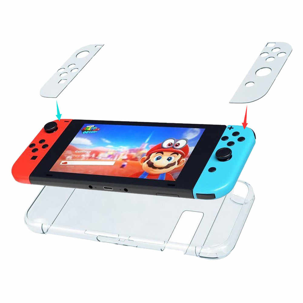 Ultrathin Clear Slim Crystal Protective Dockable Case Cover For Nintendo Switch  material offer shockproof protection